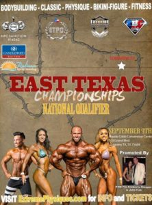 NPC East Texas Champ @ Maude Cobb Convention & Activity Center | Longview | Texas | United States
