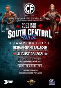 2021 INBF South Central USA Championships @ Beeman Hotel in Dallas Park Cities